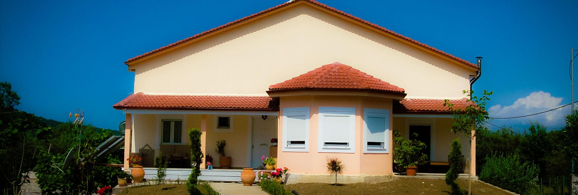 Ισόγειες Κατοικίες με Σοφίτα - Προκάτ Σπίτια Ήπειρος - Γεώργιος Χρυσοστόμου & Υιοί